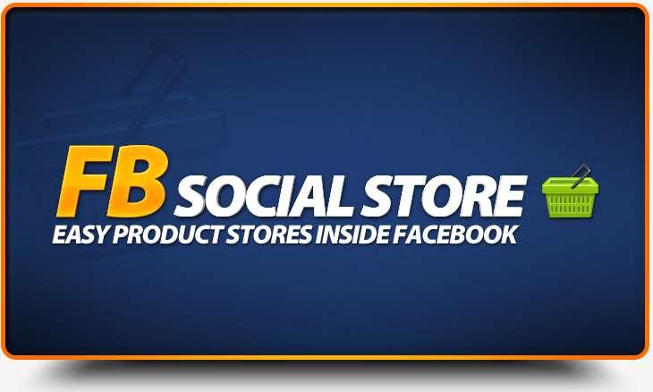 FB Social Store App