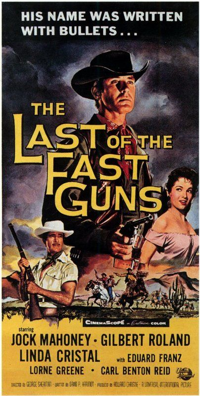 posterwtt George Sherman   The Last of the Fast Guns (1958)