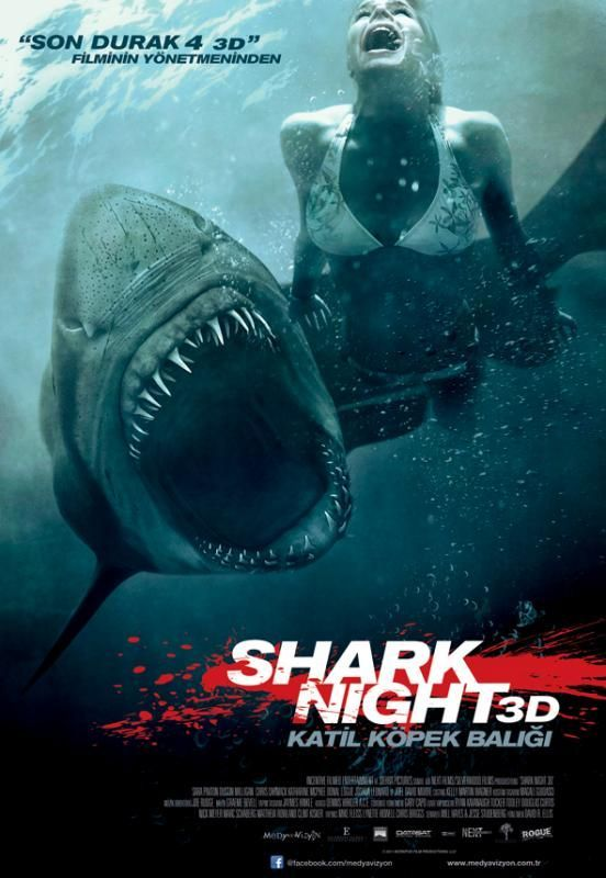 Katil Köpek Balığı | Shark Night | 2011 | 3D Half Sbs | BluRay | 1080p TR/ENG